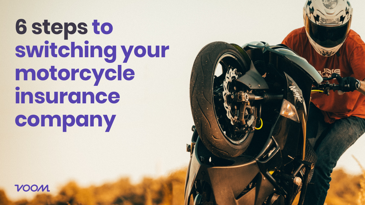 6 steps to switching your motorcycle insurance company