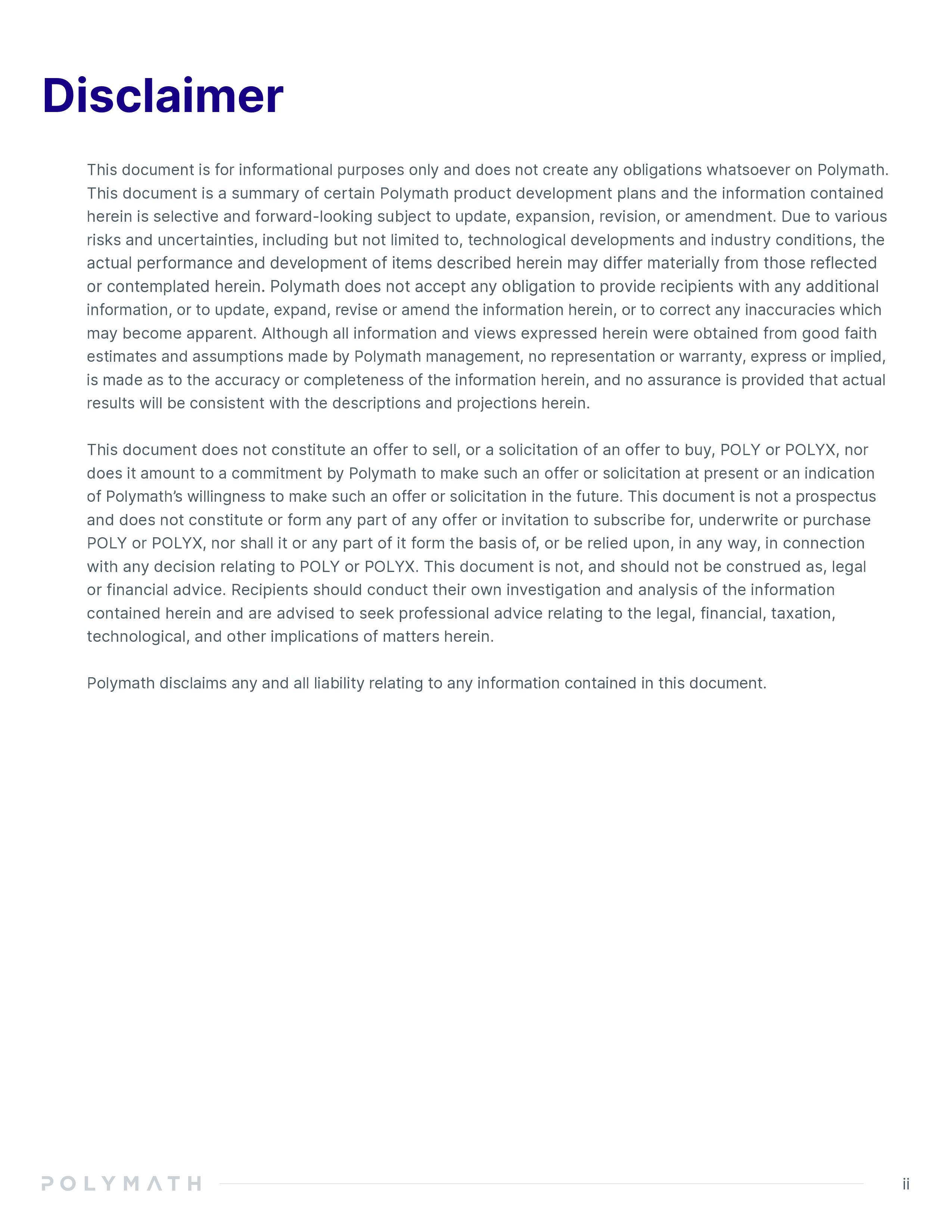 Polymath Whitepaper Page 3