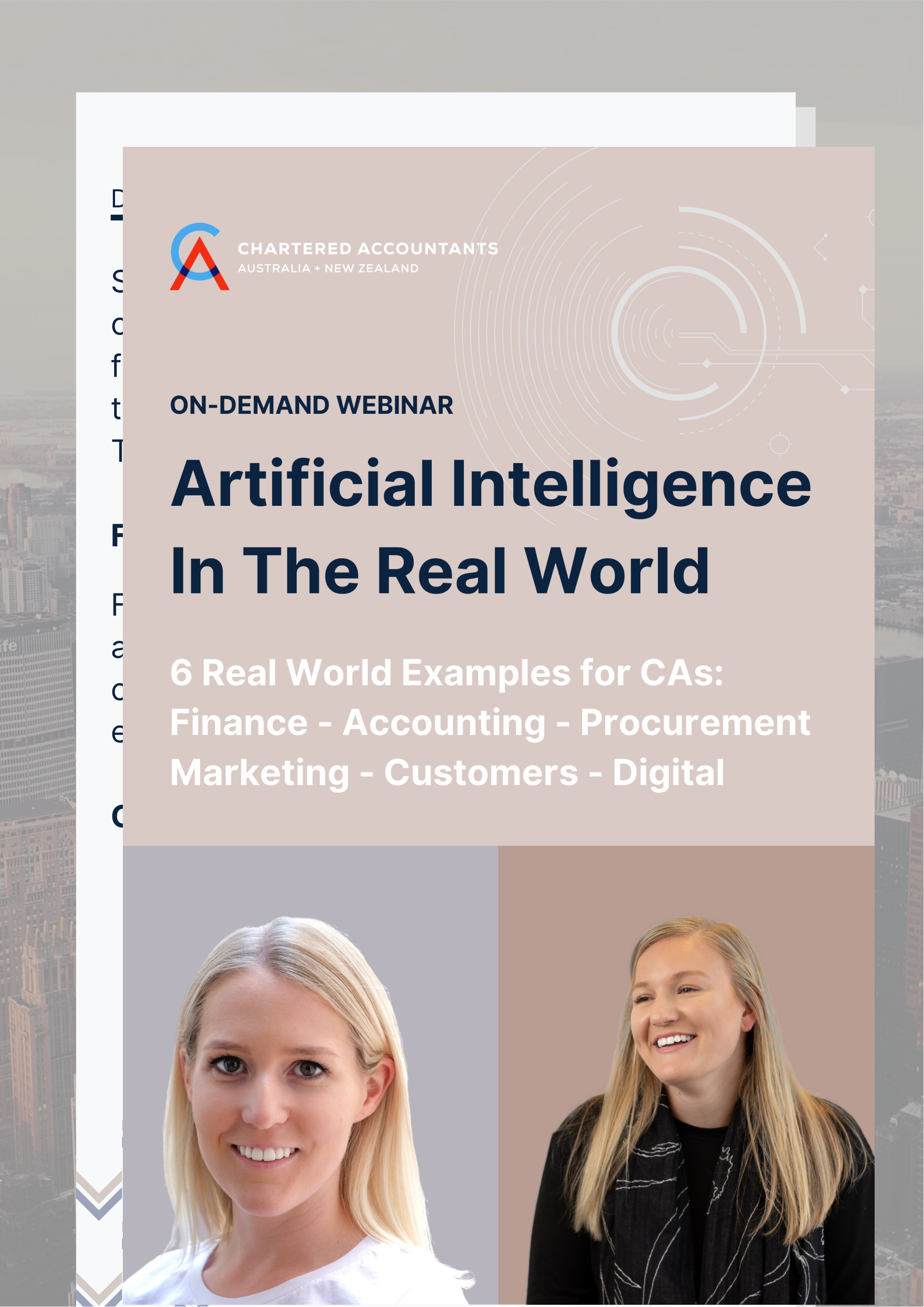 On-Demand Webinar: Artificial Intelligence In The Real World.