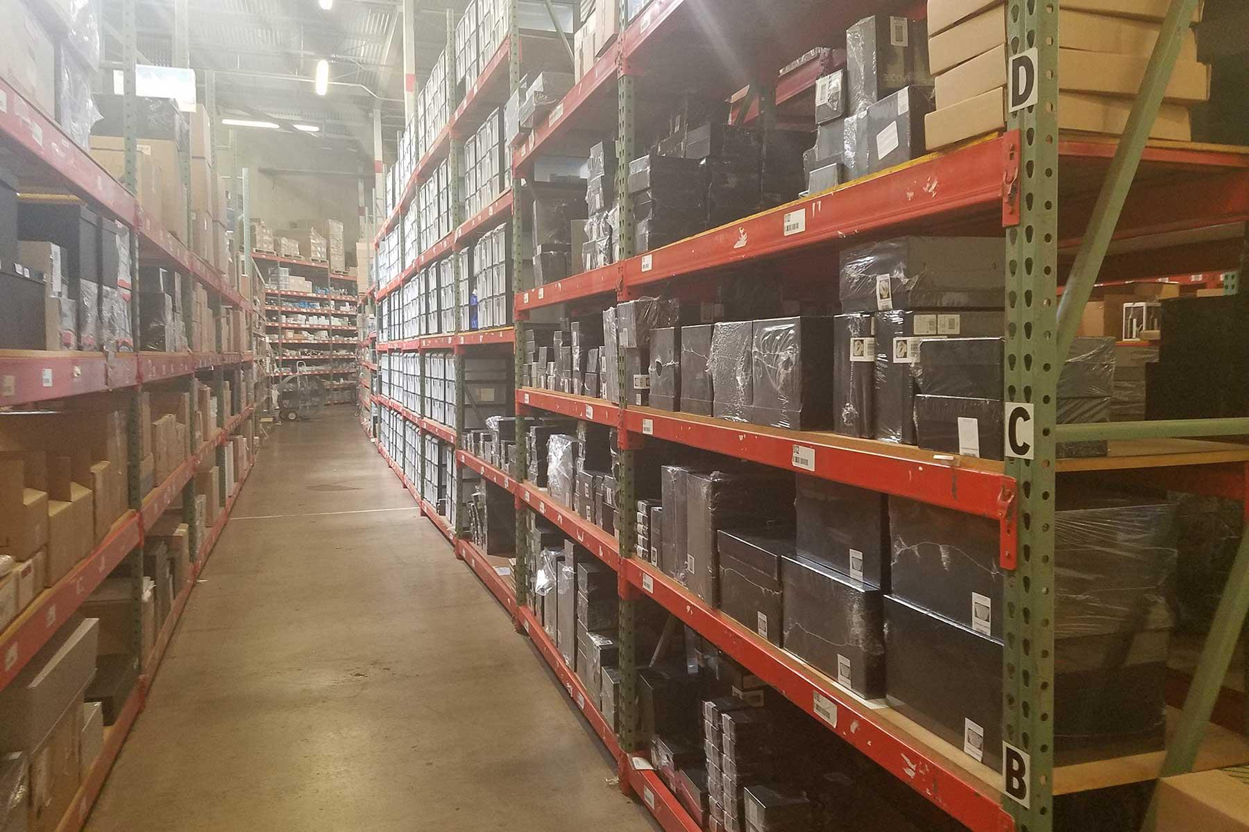 Our 25,000 square foot distribution center in Dallas, Texas