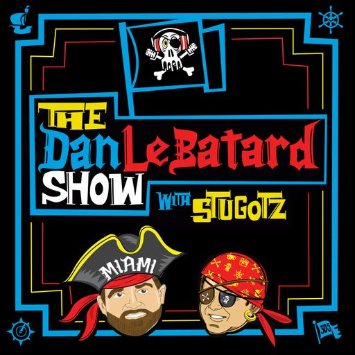 The Dan Le Batard Show with Stugotz Podcast Artwork