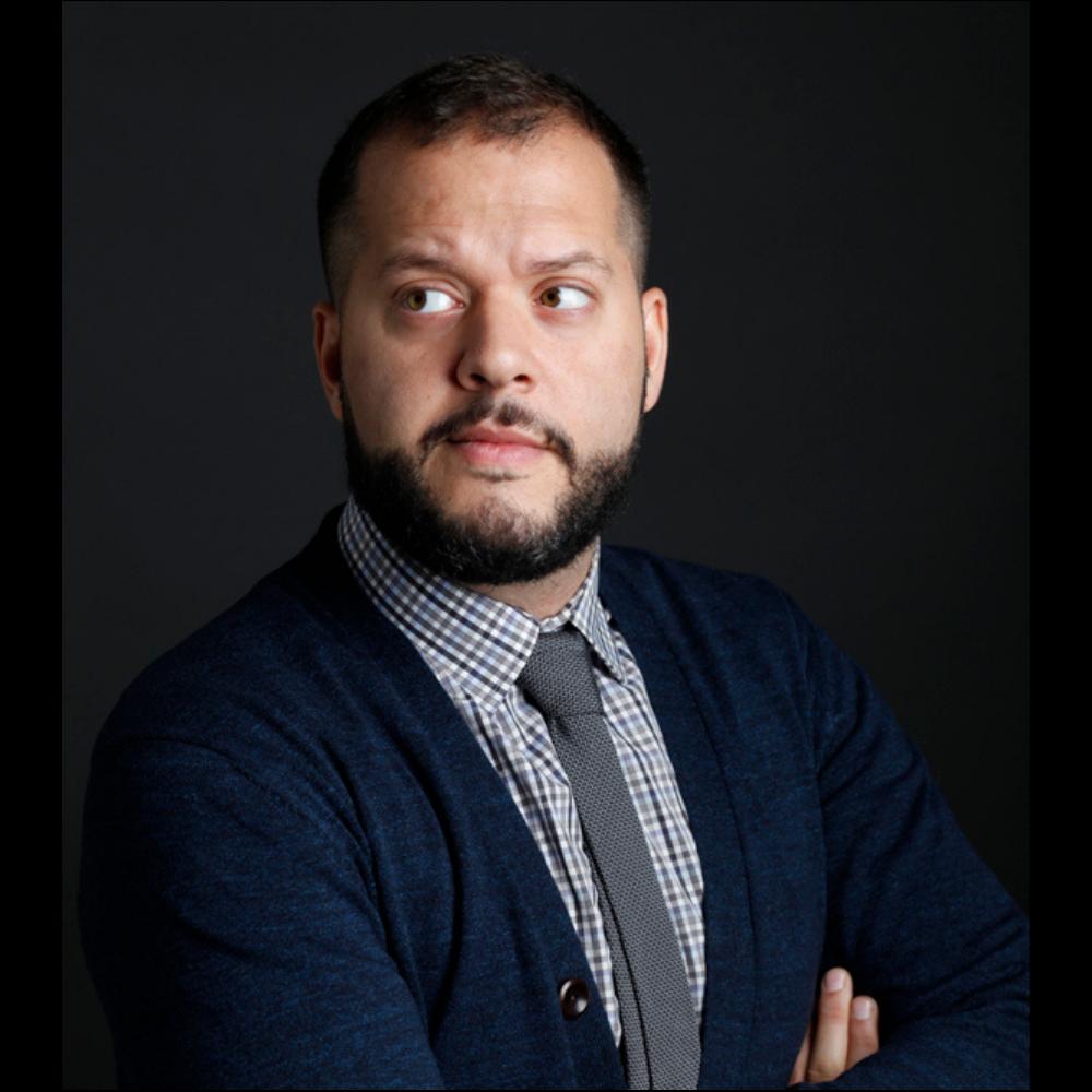 Headshot of Canadaland's Jesse Brown