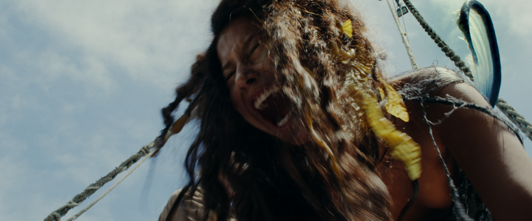 'Mermaid Down' effects had to be more creative, inventive, and practical