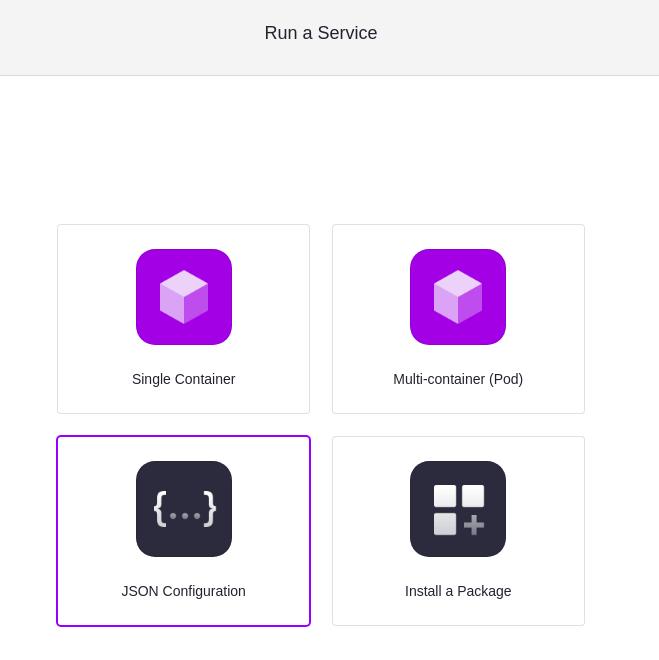 JSON Configuration
