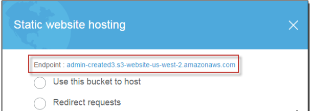 Static Web Hosting