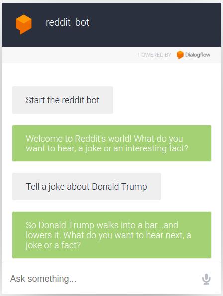 Reddit Bot Demo