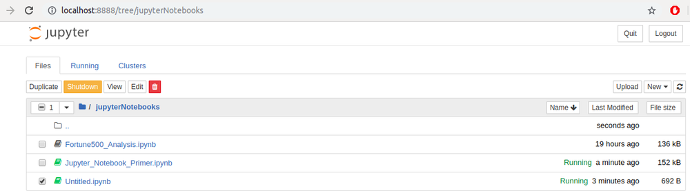 Jupyter Notebook - Shutdown the Kernel