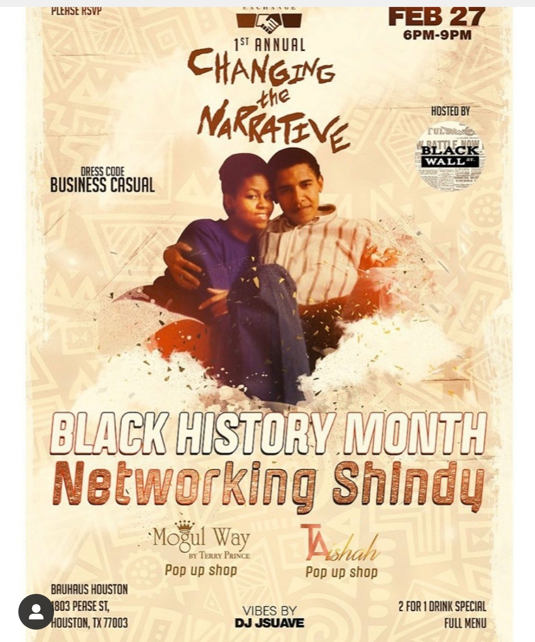 1st Annual Changing the Narrative Networking Shindy
