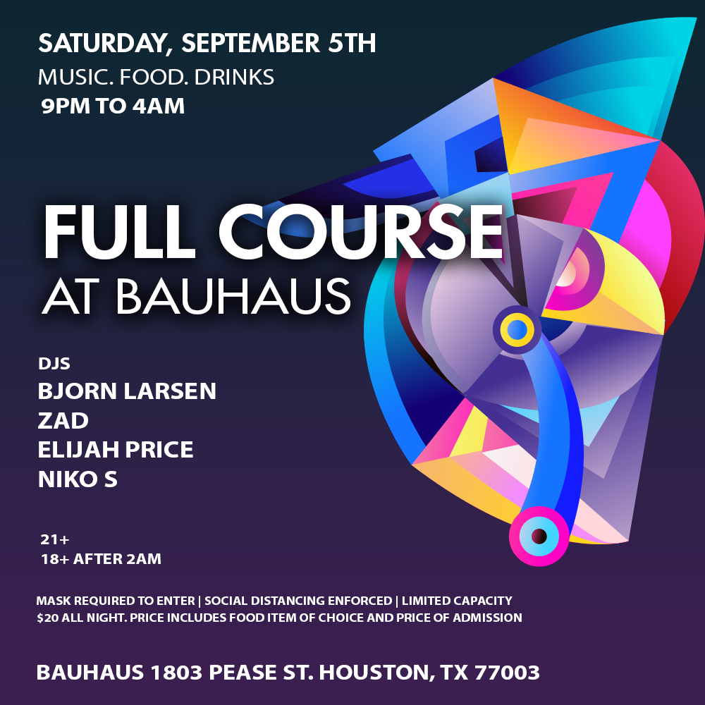 Bauhaus Saturday