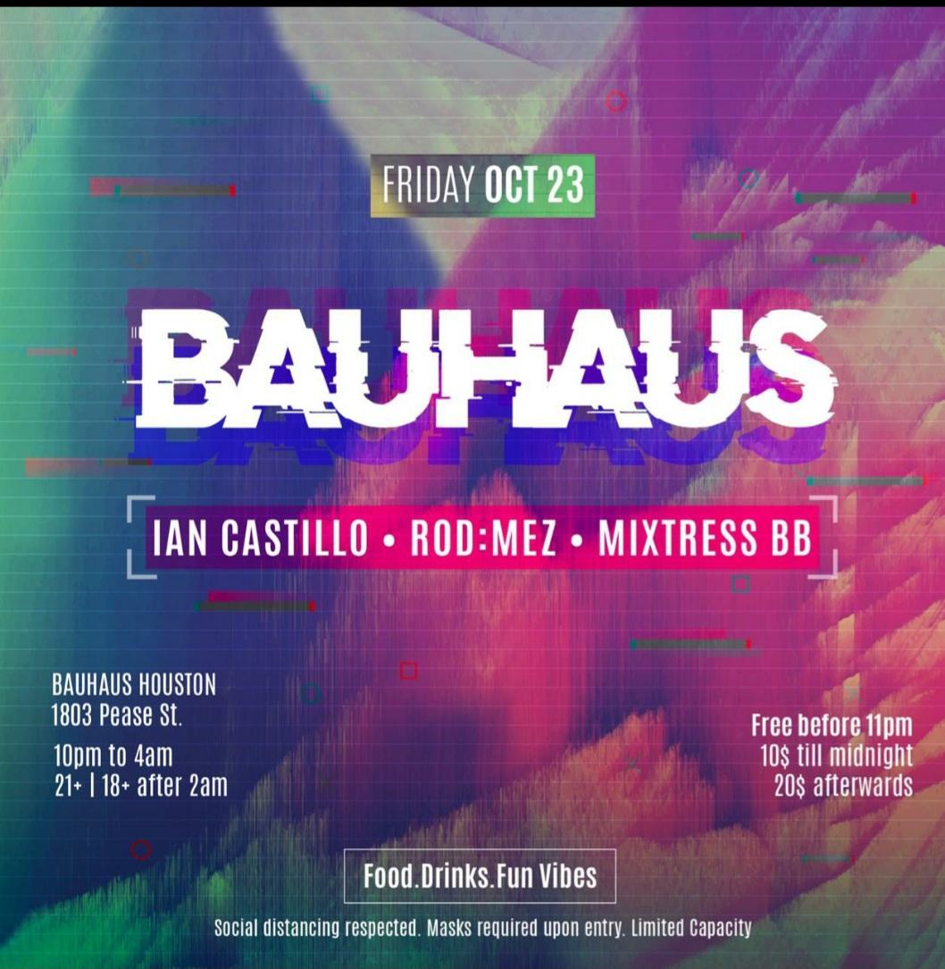 Friday Night @ Bauhaus