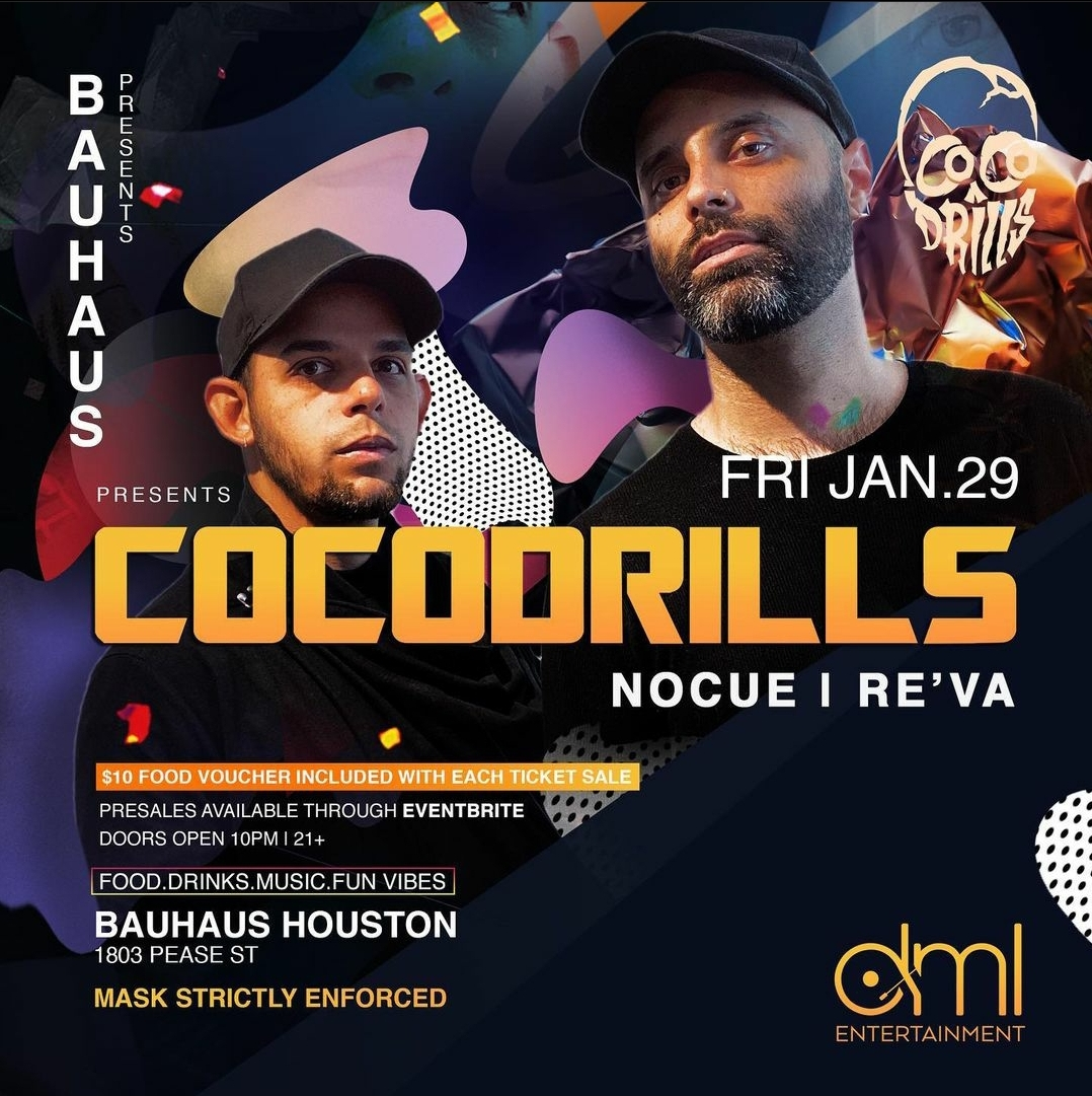 Cocodrills Return to Bauhaus