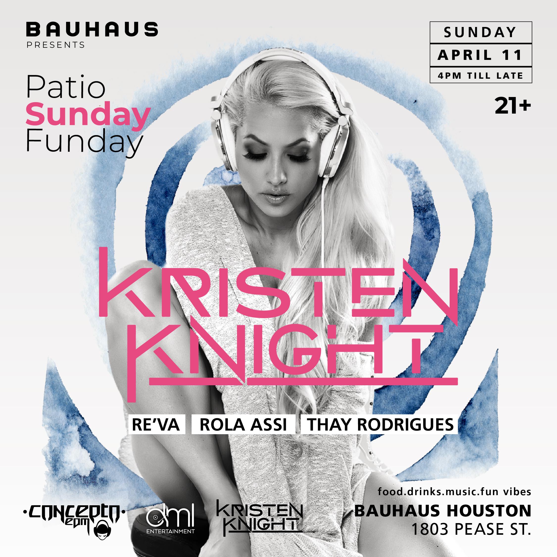 Patio Sundays Featuring Kristen Knight
