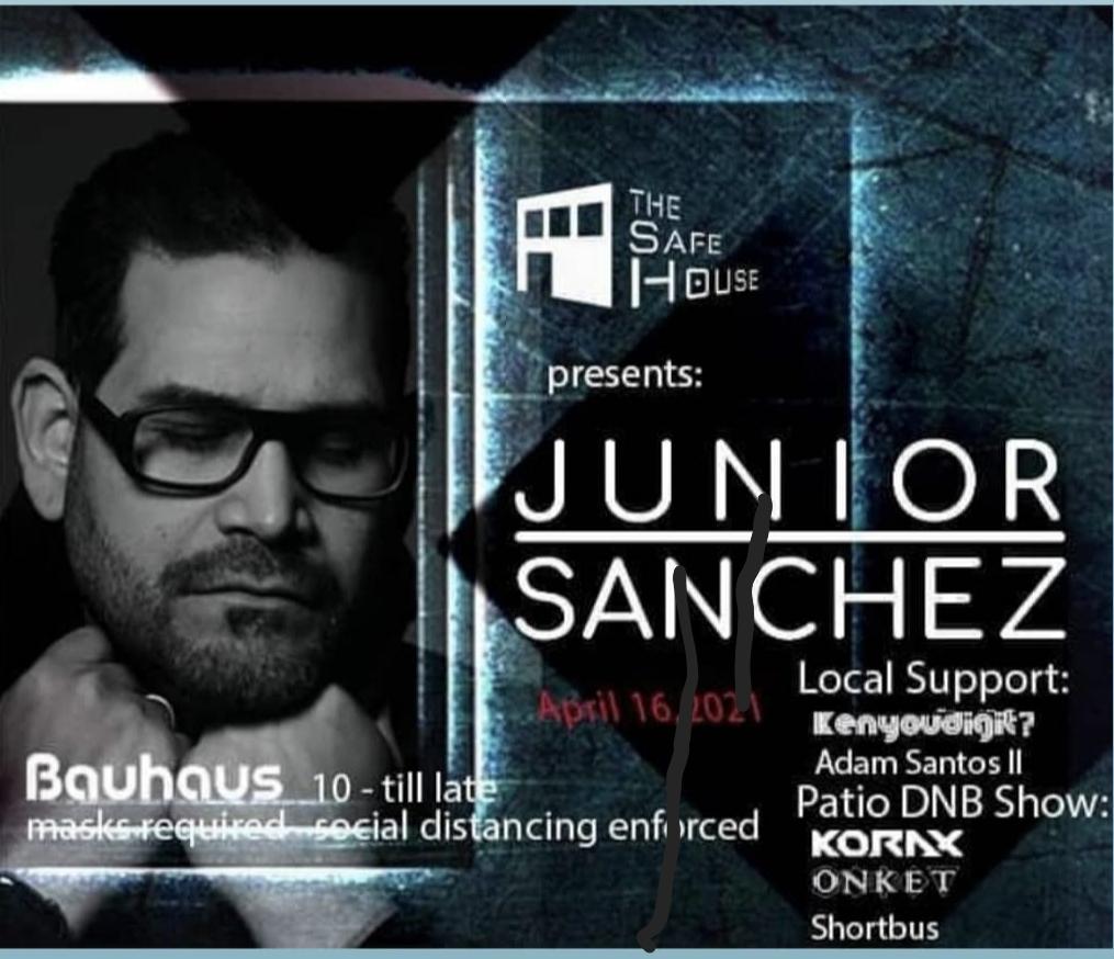 SafeHouse presents: Junior Sanchez