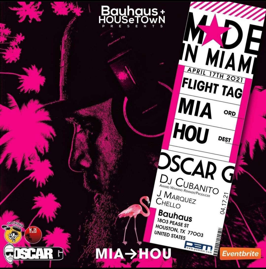 Oscar G Made in Miami 2021