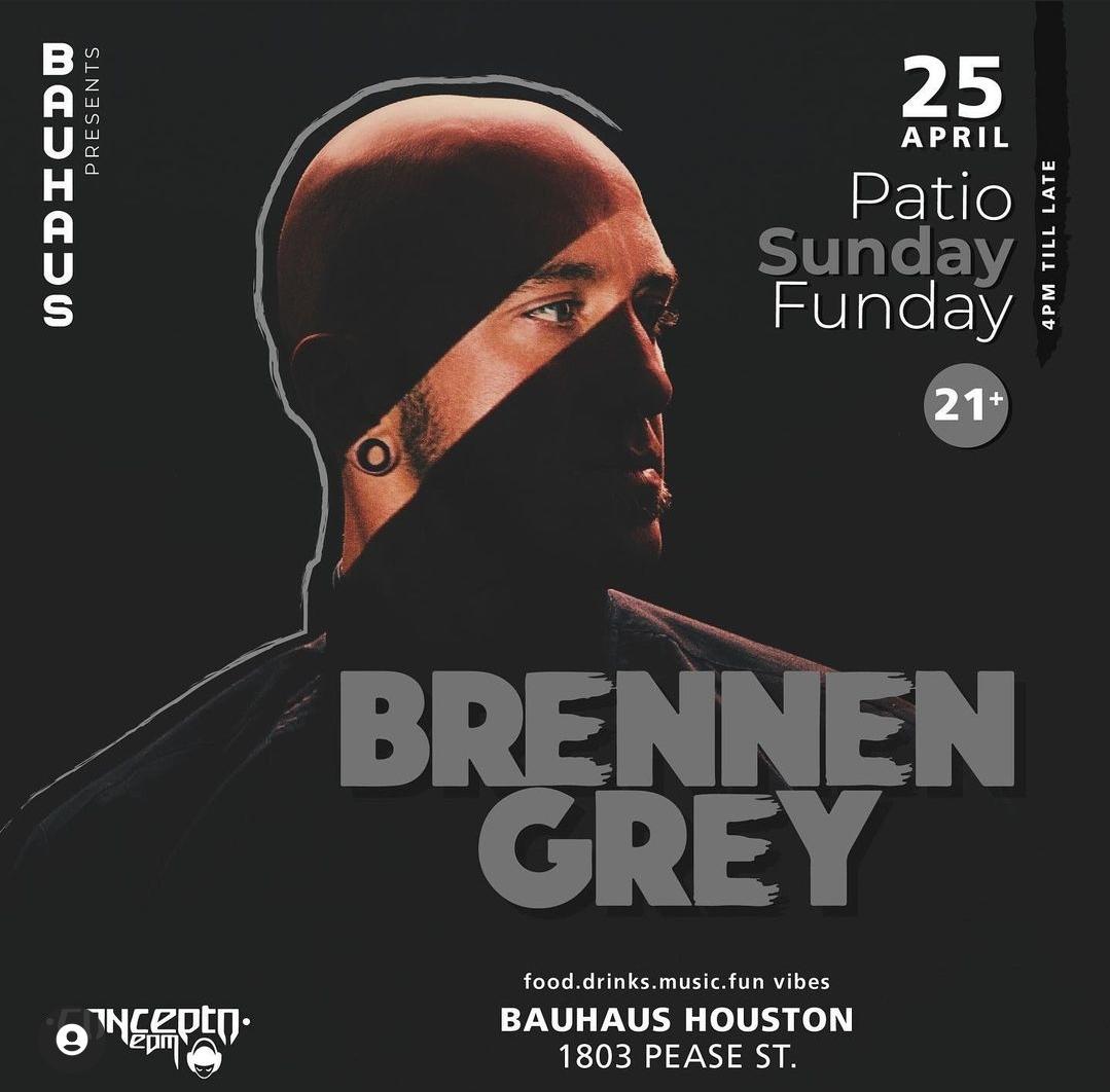 Patio Sunday Featuring Brennen Grey