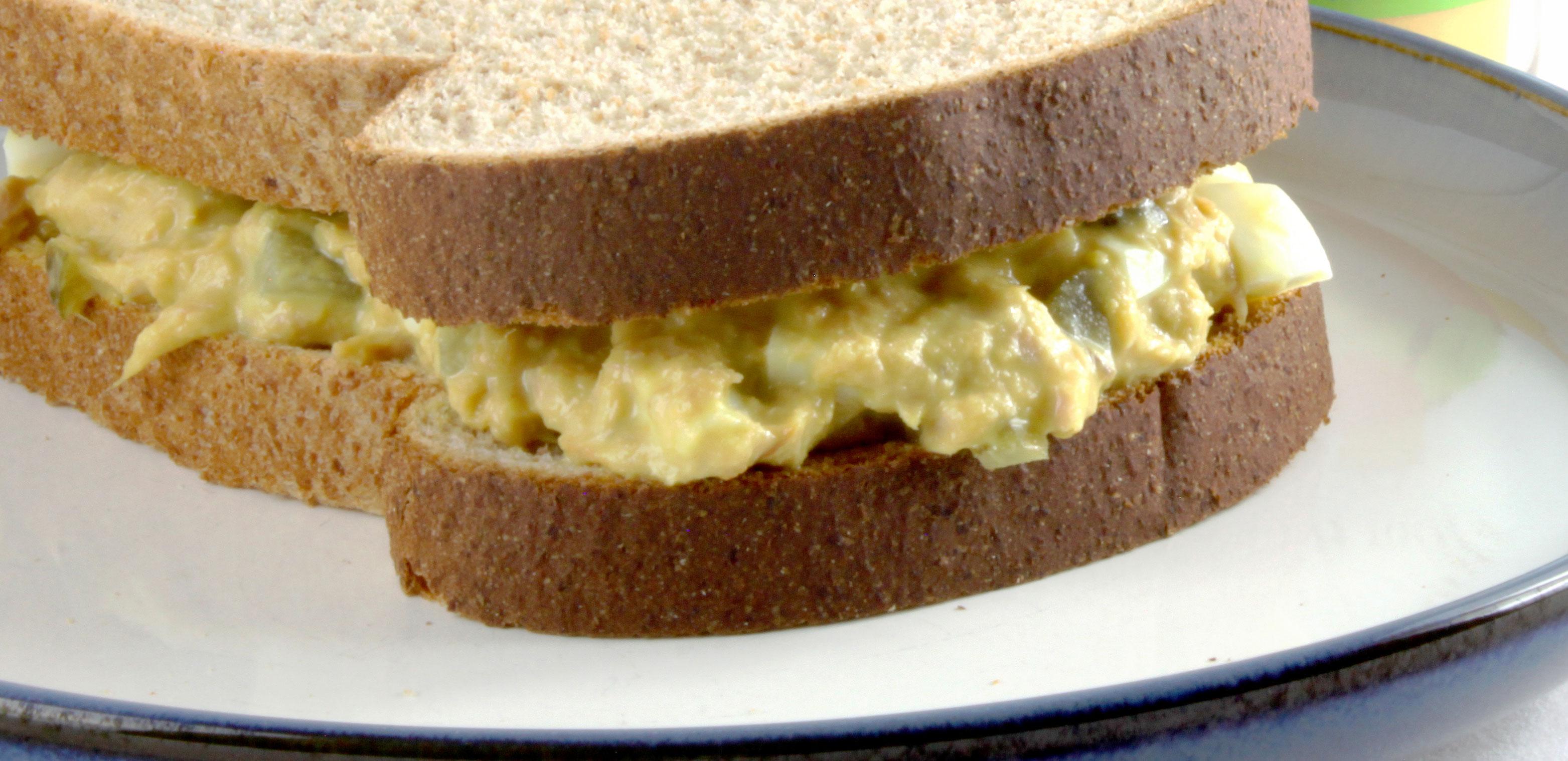 TaterSweet Egg Salad Sandwich
