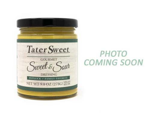 A glass jar of TaterSweet