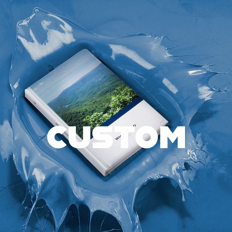 Custom corporate branded planner  agendas