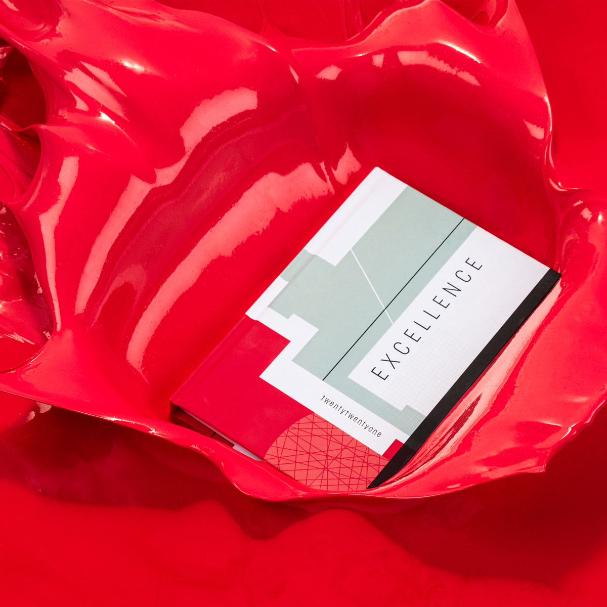 Creative Planner for Creative People - Splashing in Red Paint