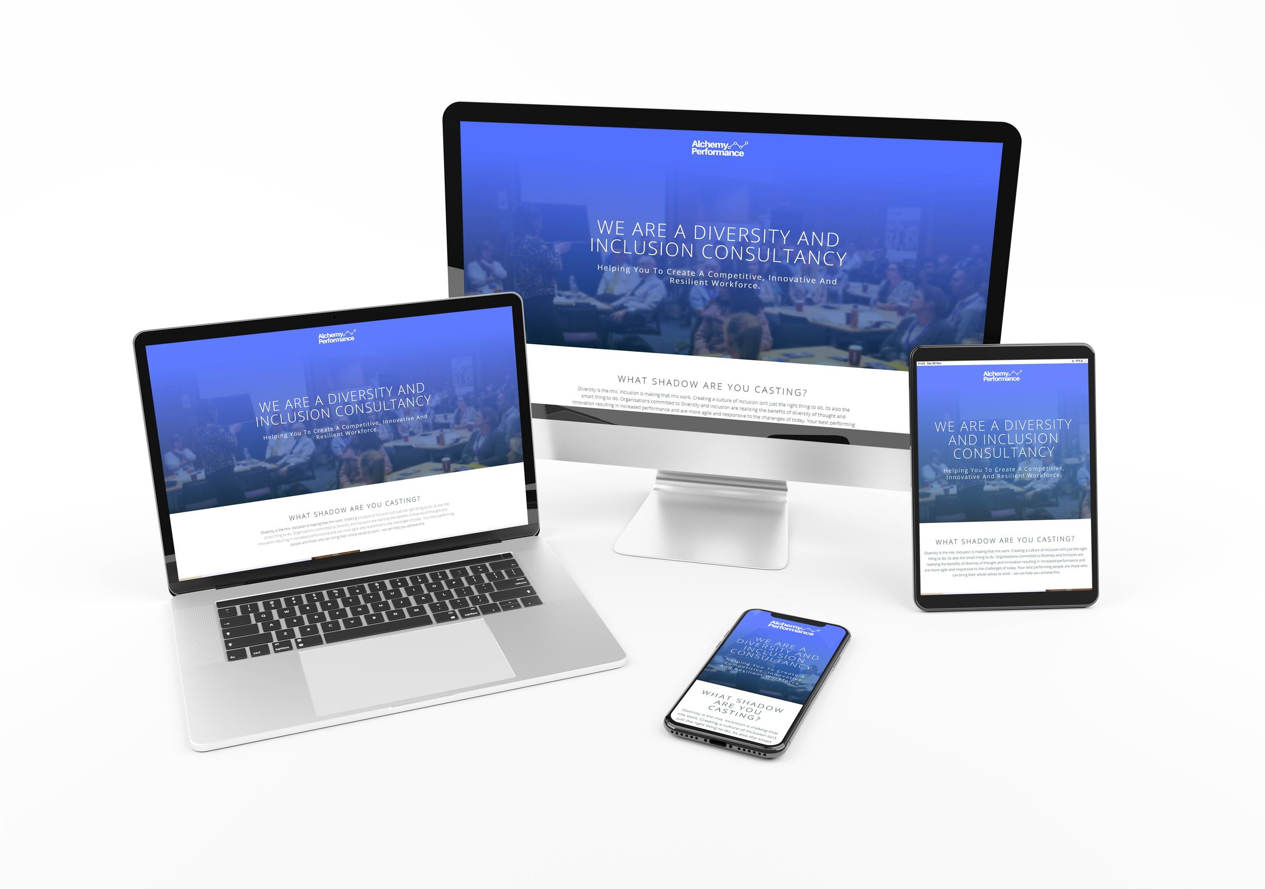Device Responsive Website Design Example