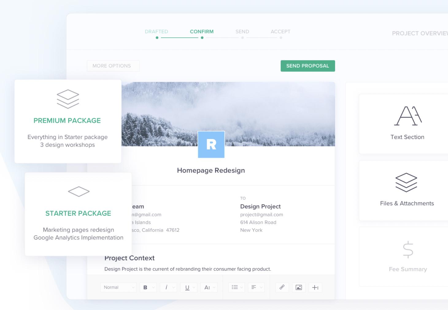 hello bonsai freelance proposal invoice software review