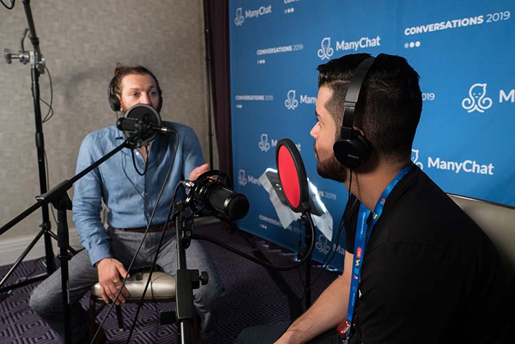 Ezra Firestone & Alex Quin | Manychat Conversations Hustle Inspires Hustle Podcast