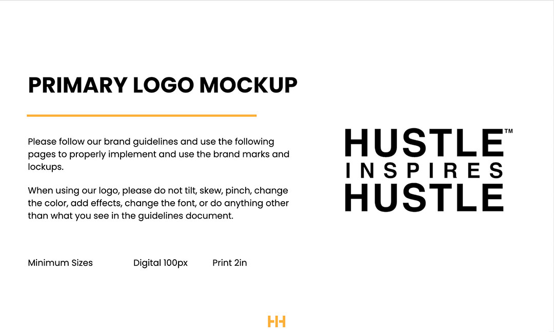 what do brand guidelines include