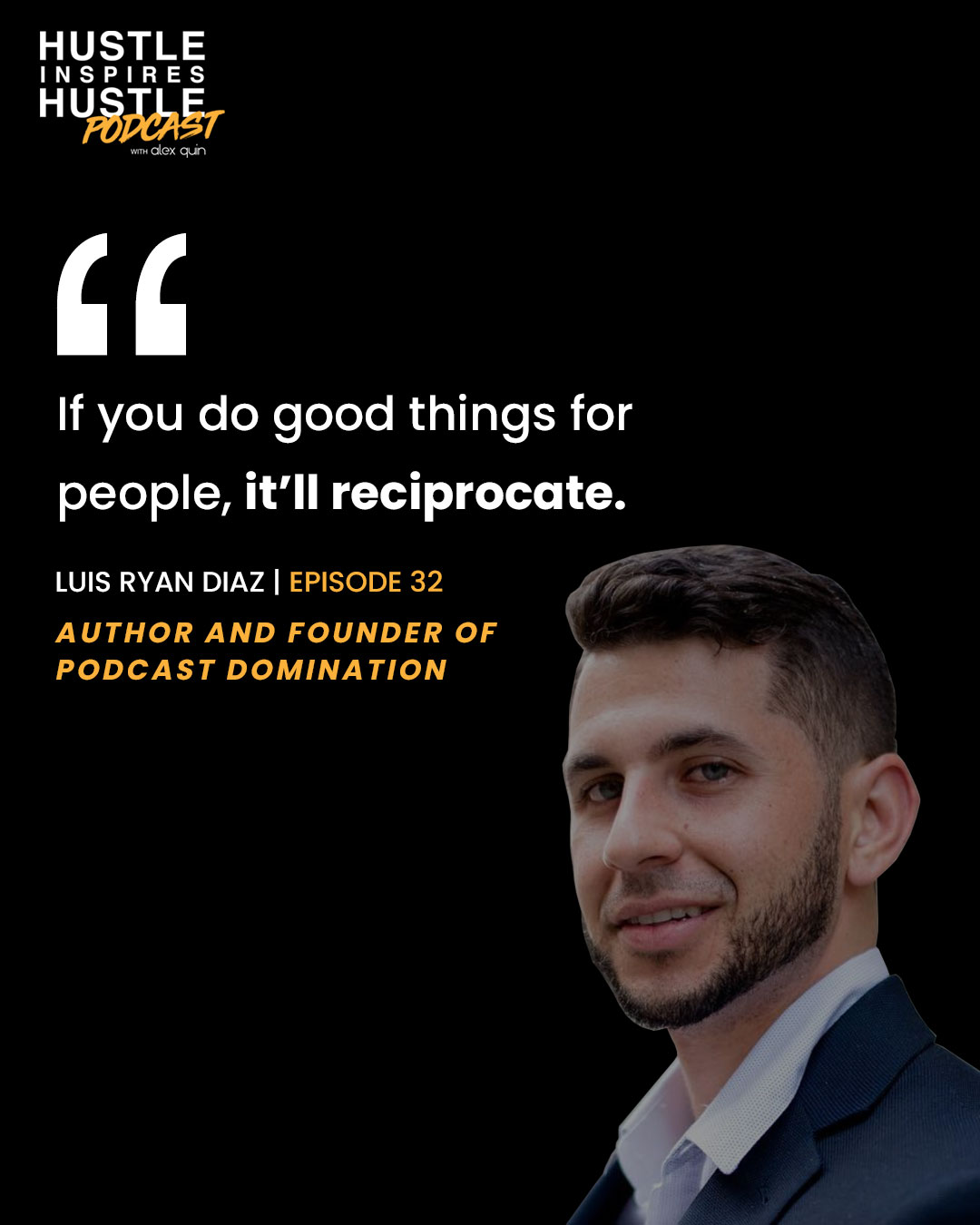 Luis Ryan Diaz & Alex Quin on Hustle Inspires Hustle Podcast