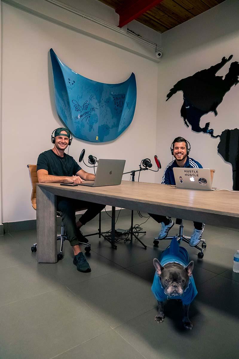 Liram Sustiel & Alex Quin at mph club | Hustle Inspires Hustle Podcast