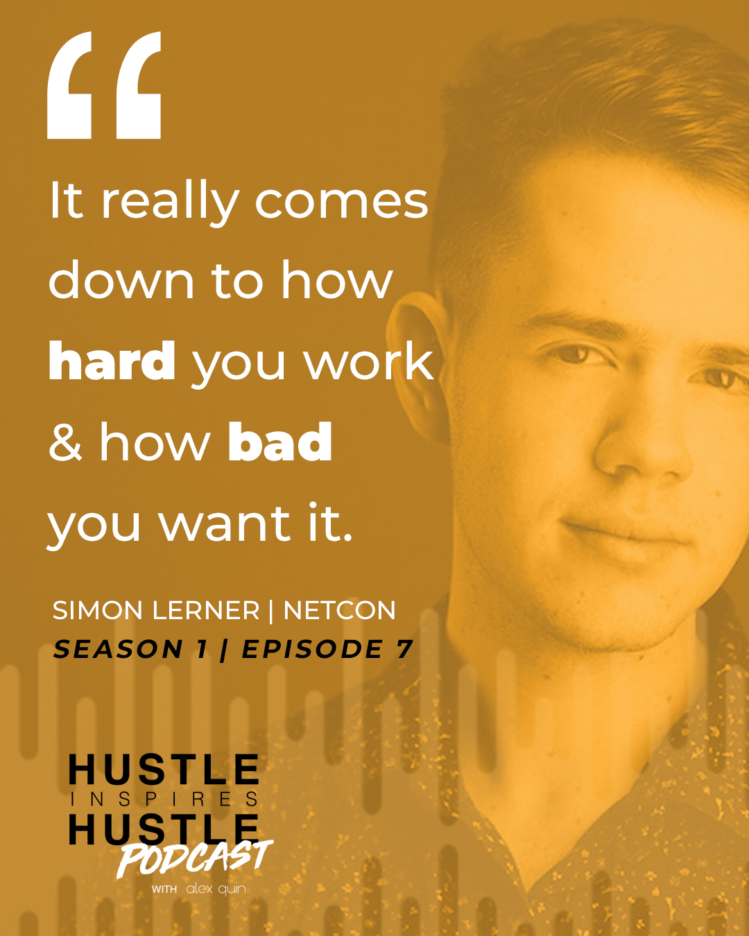 Jose Aristimuno & Alex Quin - On Hustle Inspires Hustle Podcast