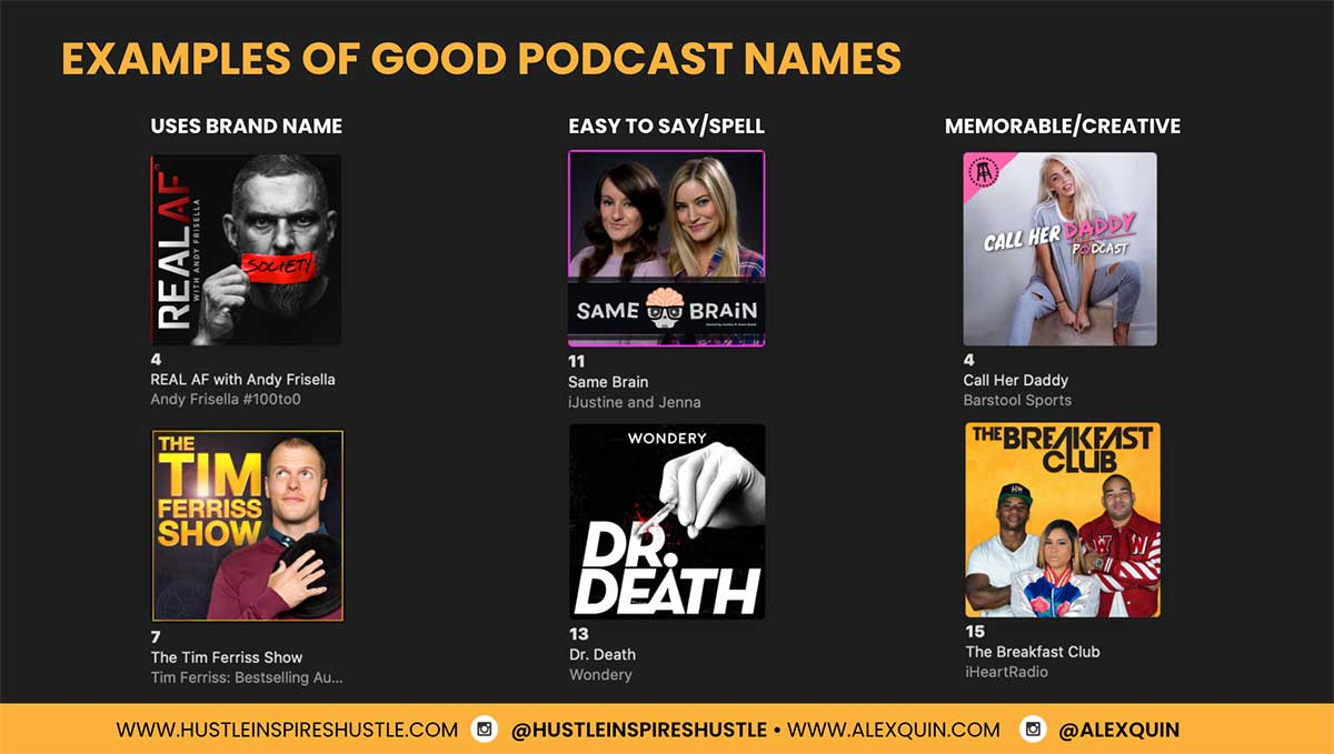 Good Podcast Show Names