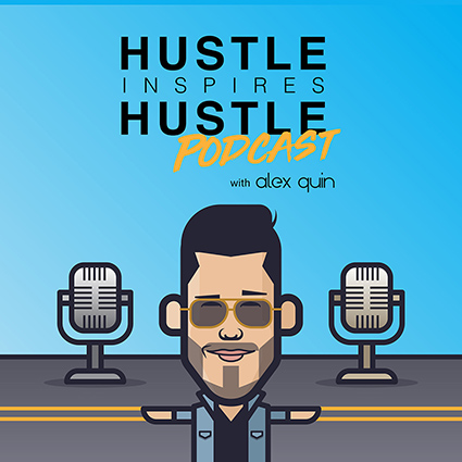 hustle inspires hustle podcast cover