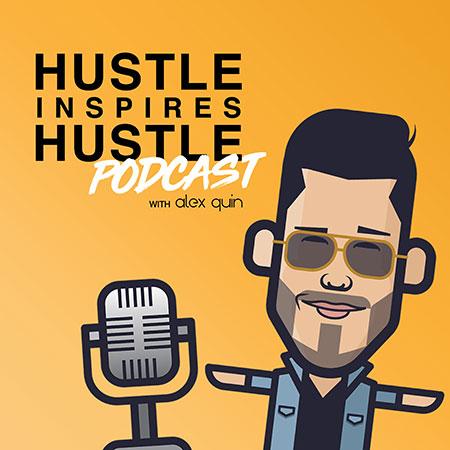 hustle inspires hustle podcast cover