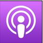 hustle inspires hustle podcast apple podcast icon
