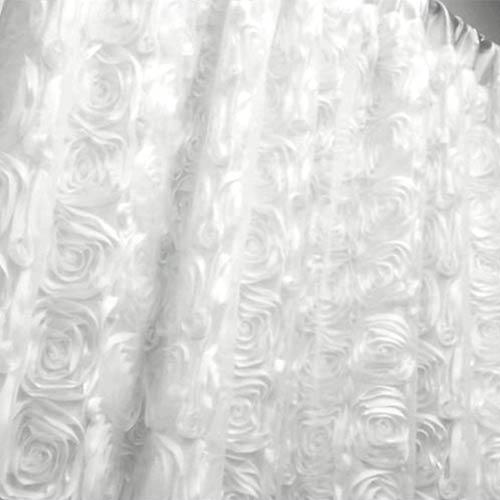 white-rosette
