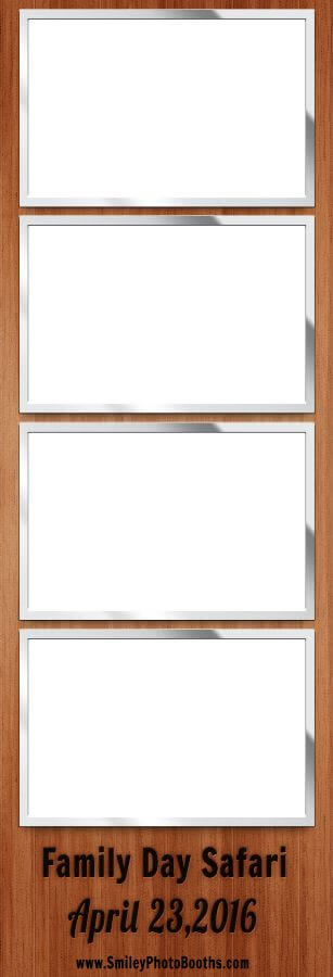 Smiley Photo Booths example photo strip