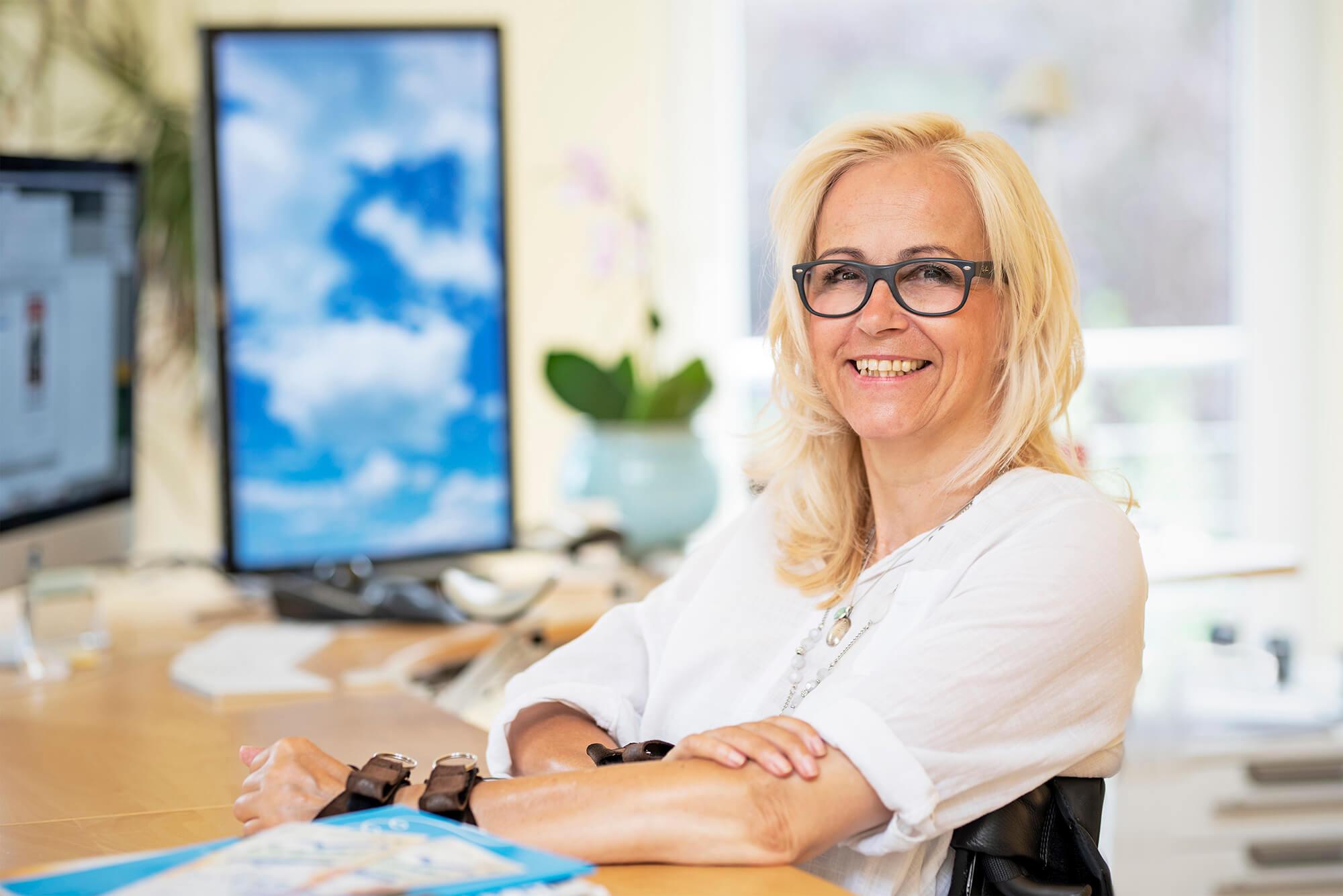 Portrait Barbara Hilgers –  FreeForAd  Agentur für visuelle Kommunikation