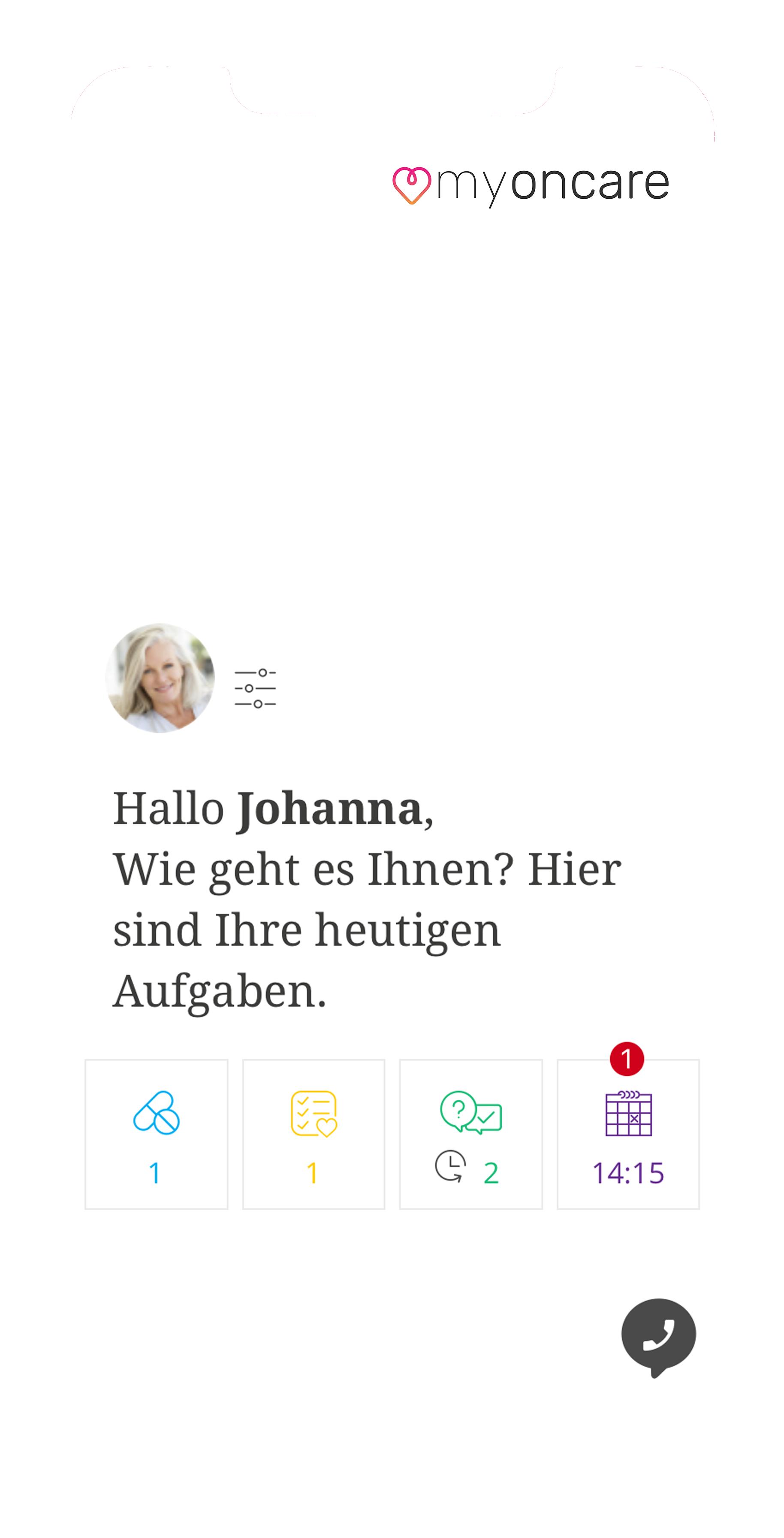 App-Startseite