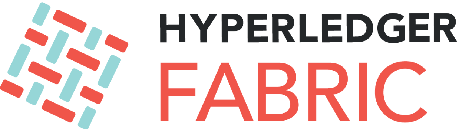 The logo of the Hyper Ledger Fabric Blockchain project
