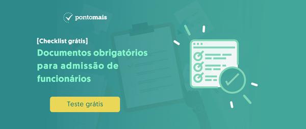 checklist documentos de admissao