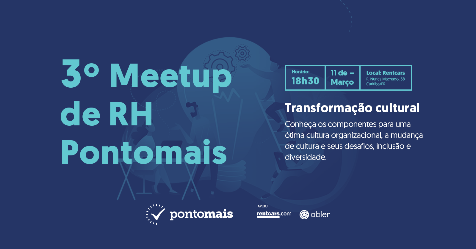 3º MeetUp RH Pontomais | Transformação Cultural