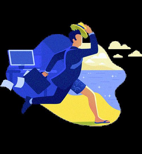 Kit Férias: Organize as férias dos seus colaboradores sem dor de cabeça