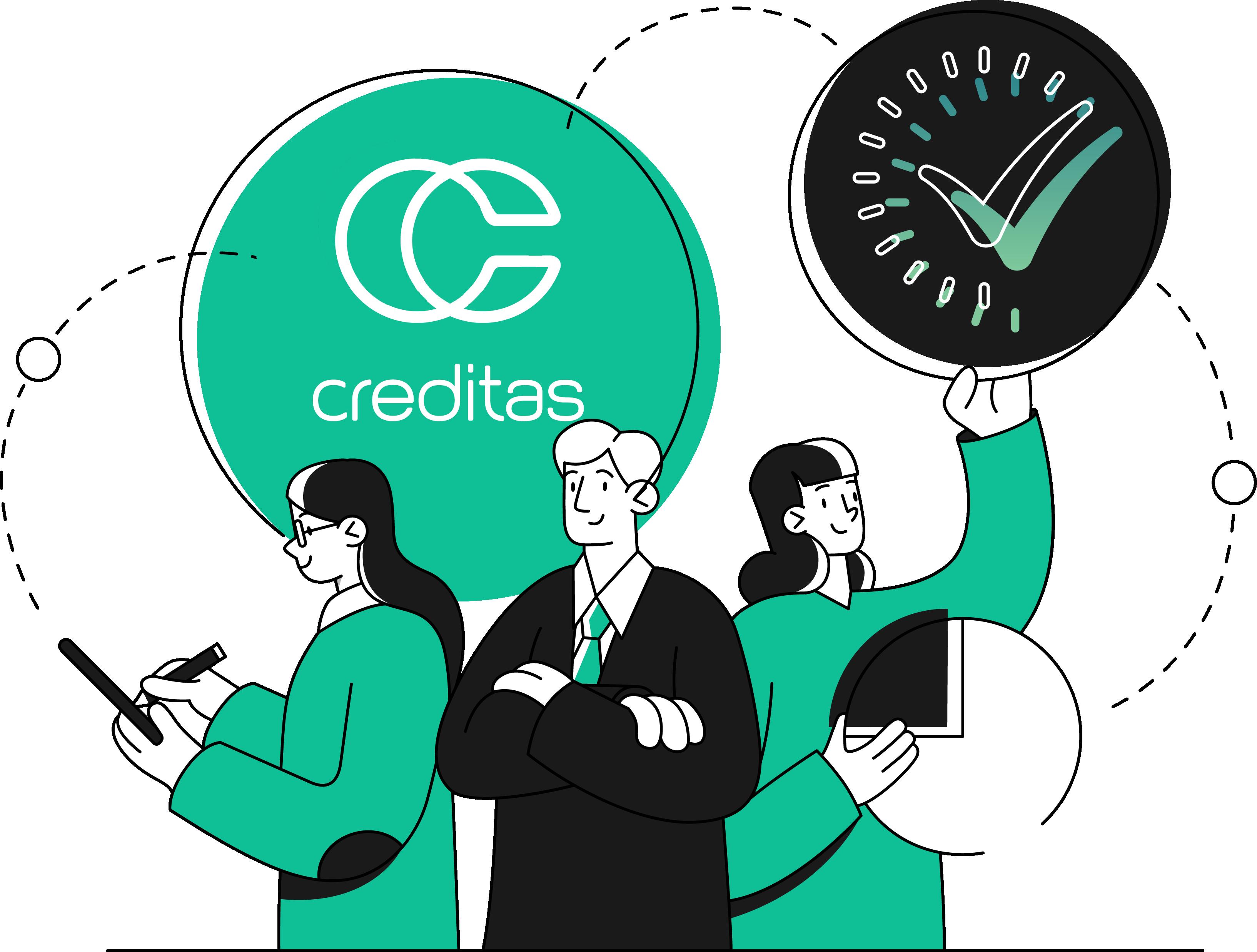 pontomais e creditas