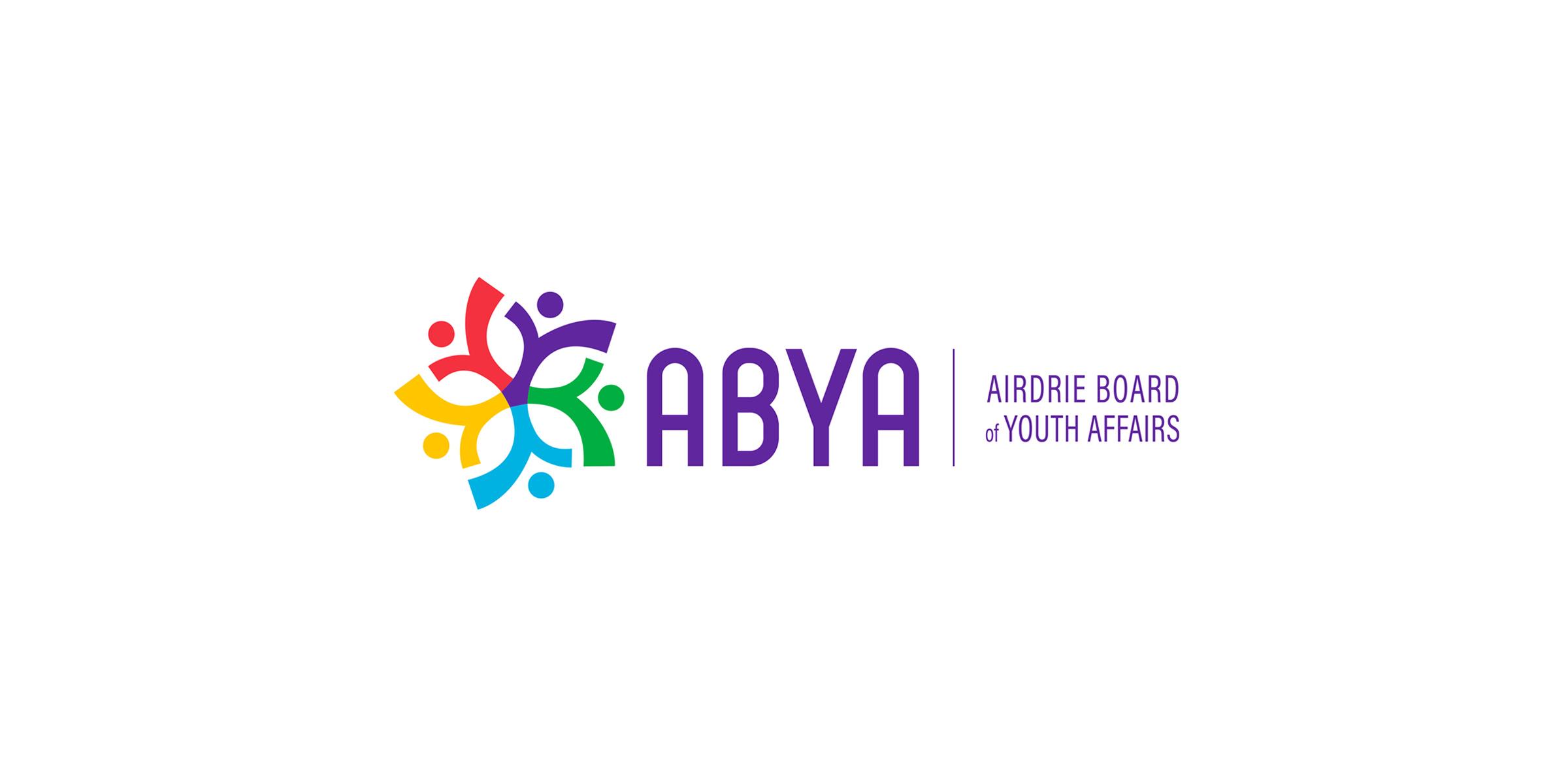 ABYA full logo design