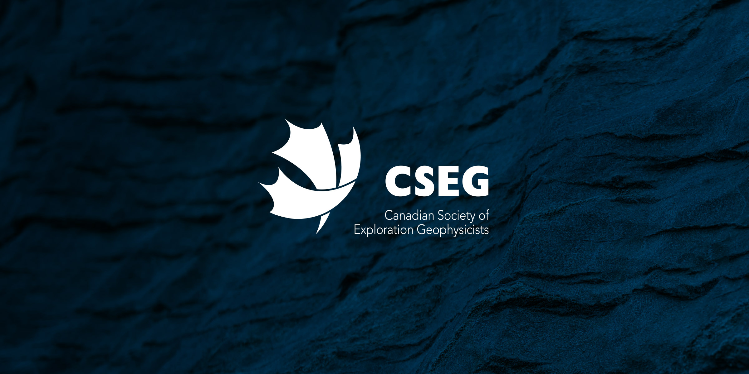 CSEG logo on a blue background