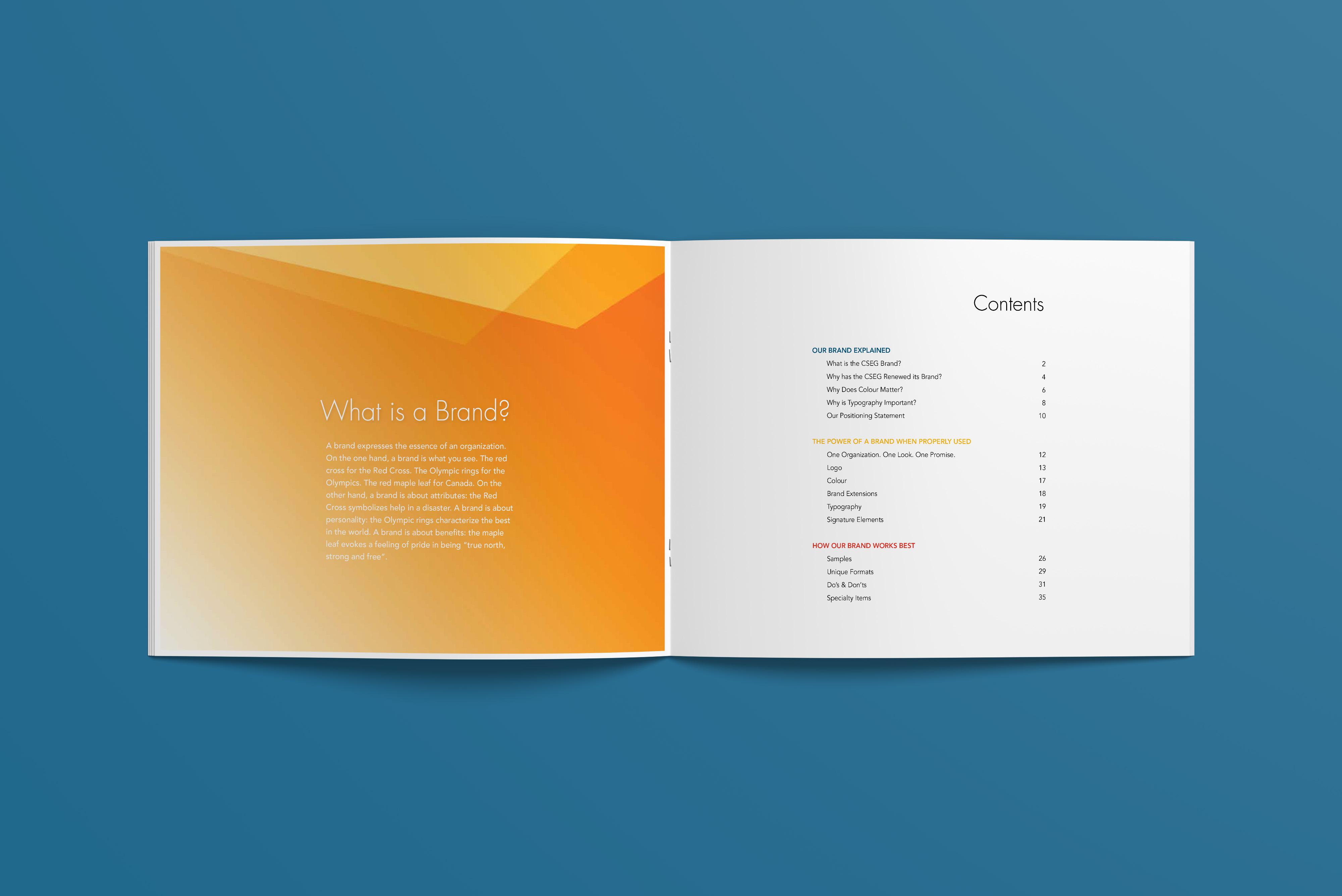 CSEG Style Guide Inside Spread
