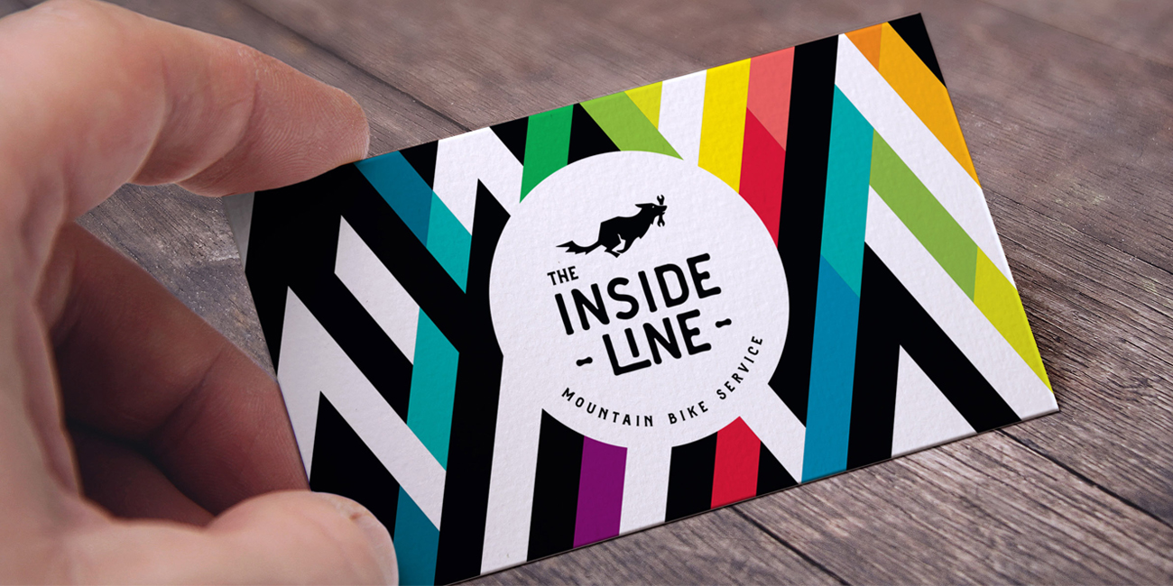 The inside line business card