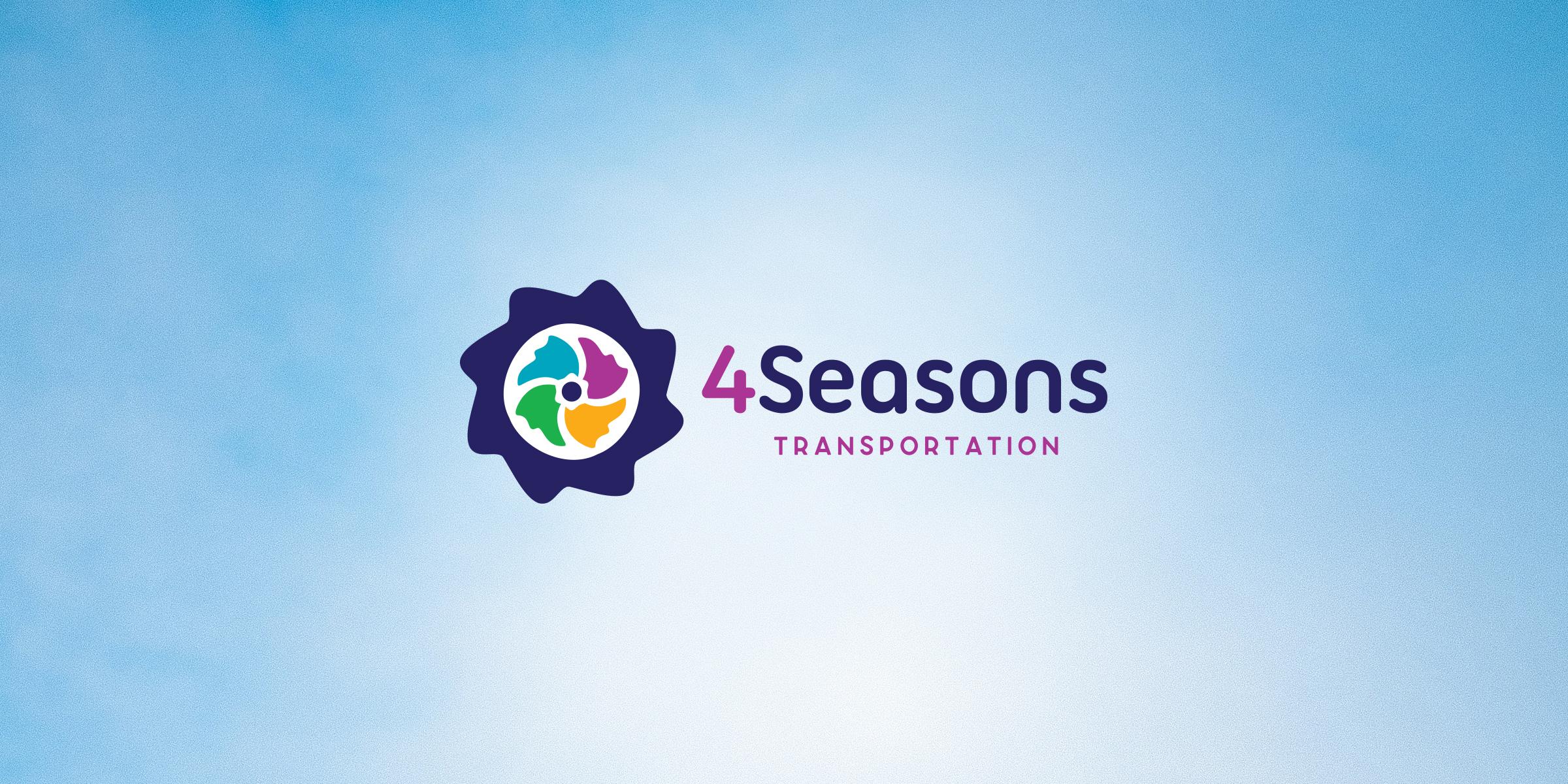 4 Seasons Transportation Logo design