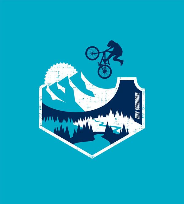 bike cochrane tshirt design