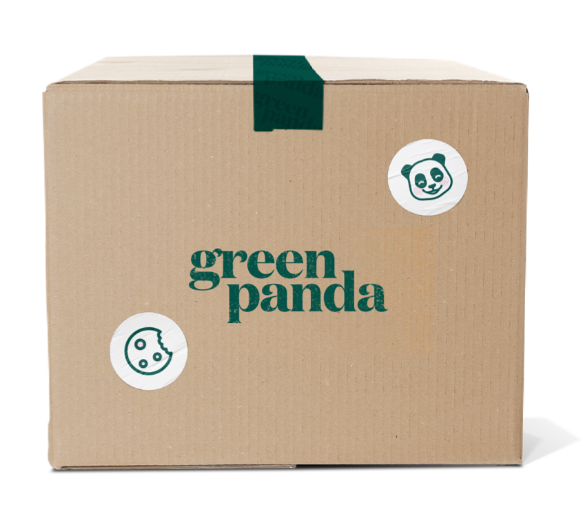 Green Panda Cannabis Food Delivery Branding